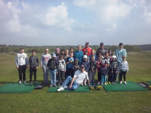 Juniors on Sunday Golf 26 04 2014
